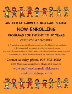 now enrolling day care