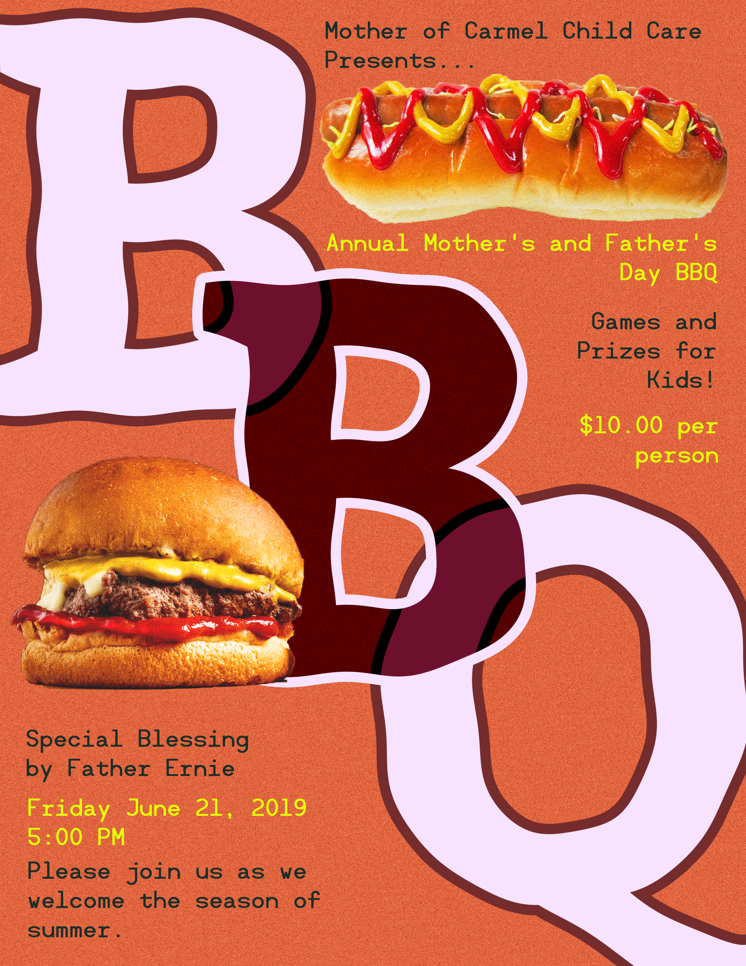 2019 BBQ Poster